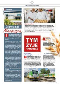INBETS promotion in the Polish magazine Mazowsze serce Polski