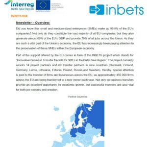 INBETS Newsletter 1: Overview