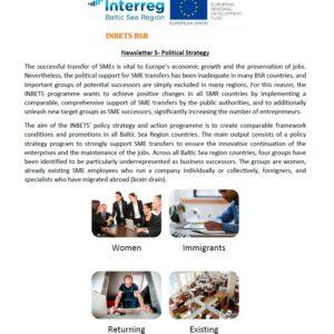INBETS Newsletter 5: Political Strategy